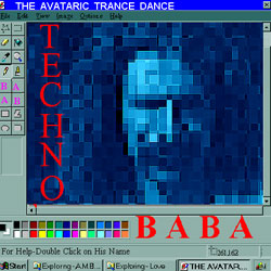 Orginal TechnoBaba CD Cover